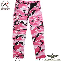 Poly/Cotton Twill BDU Pants - Pink