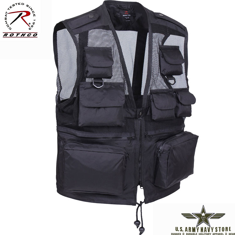 Tactical Recon Vest - Black