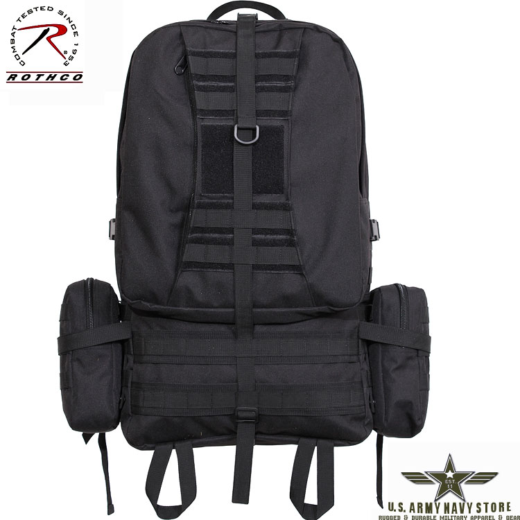 Global Assault Pack - Black
