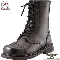 """G.I. Style Steel Toe Combat Boots 9"""""""