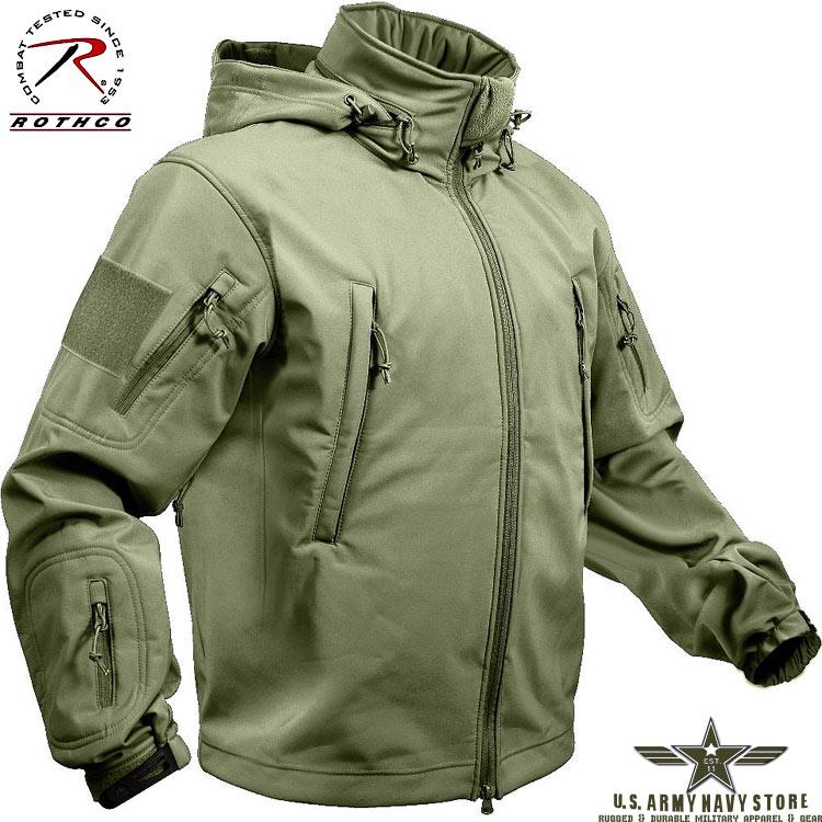 Softshell Jacket - Olive Drab