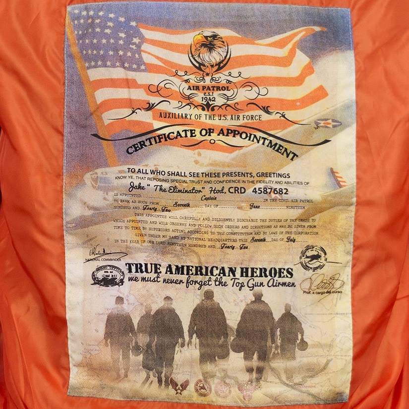 Top Gun Men's MA-1 / Lining