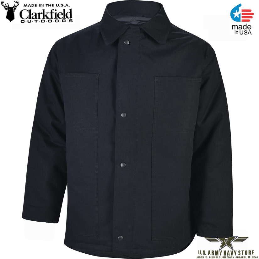 Clarkfield Chore Coat / Black