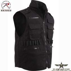 Ranger Vest w/Hood – Black