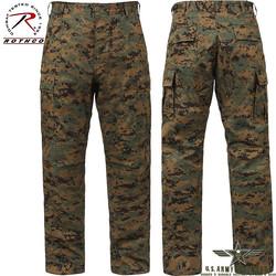 Poly/Cotton Twill BDU Pants Woodland