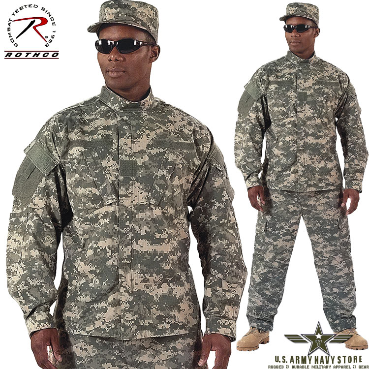Army Combat Uniform Shirt - Digital