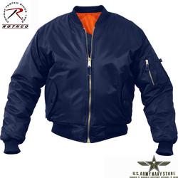 MA-1 Flight Jacket - Navy Blue
