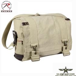 Vintage B-15 Messenger Bag - Khaki