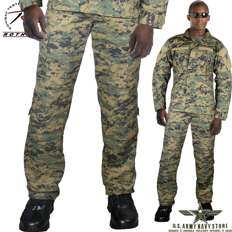 Army Combat Uniform Pants - Woodland