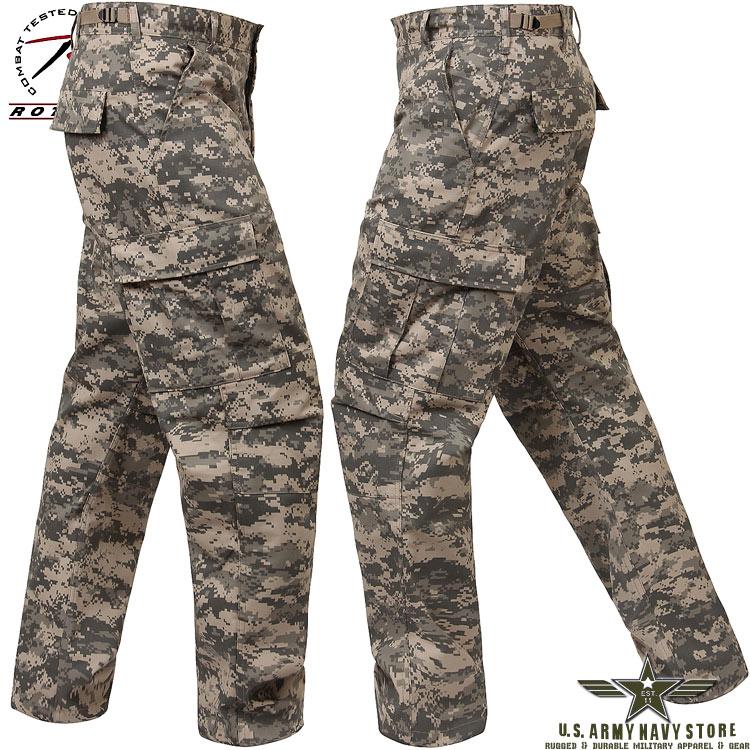 Poly/Cotton Twill BDU Pants - ACU