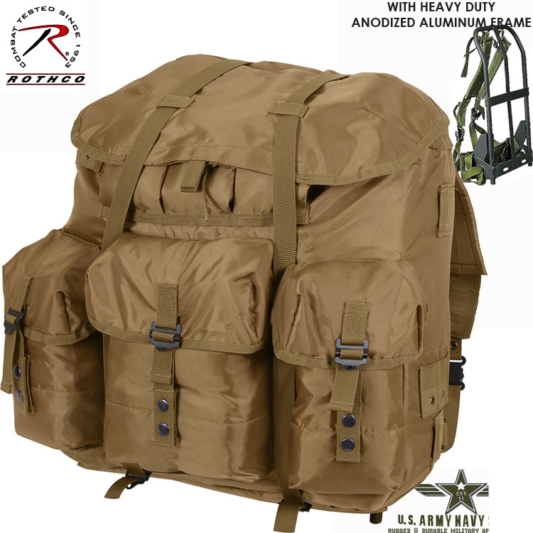 G.I. Type Coyote Brown ALICE Pack