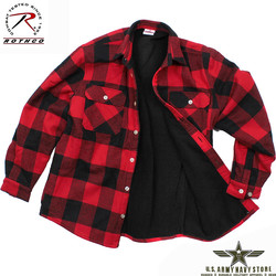 Extra HW Fleece Lined Flannel Shirt