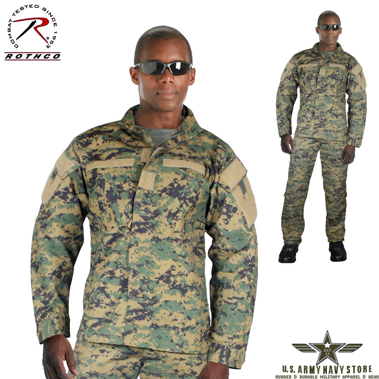 Army Combat Uniform Shirt - Woodland