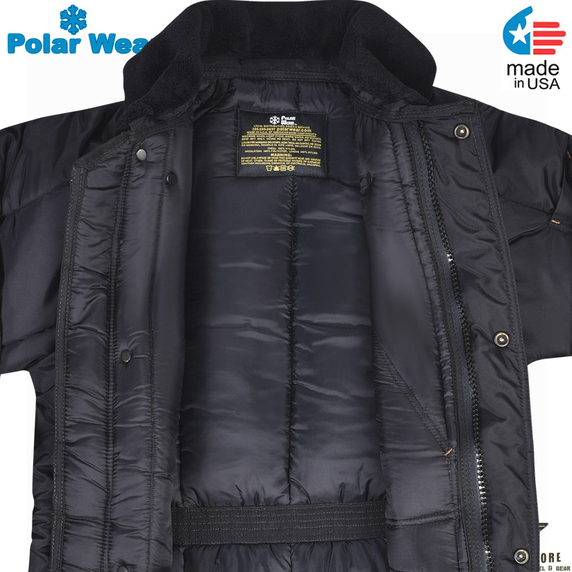 PolarWear Insulated Long Jacket