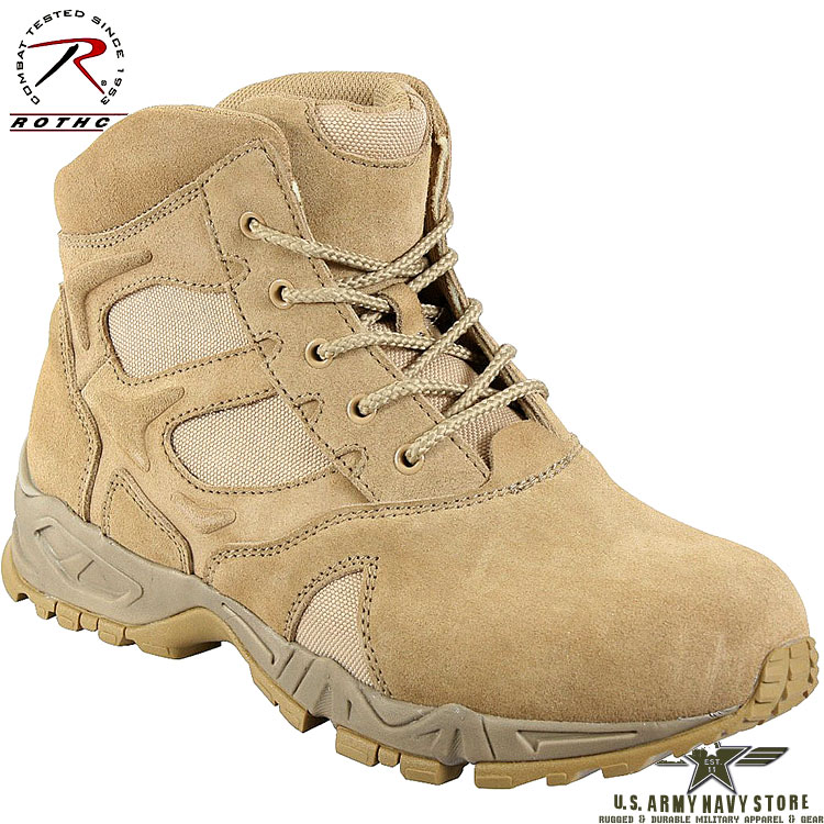 Forced Entry Deployment Boots / 6""