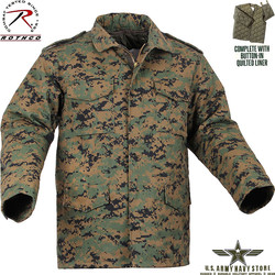 Woodland Digital M-65 Field Jacket