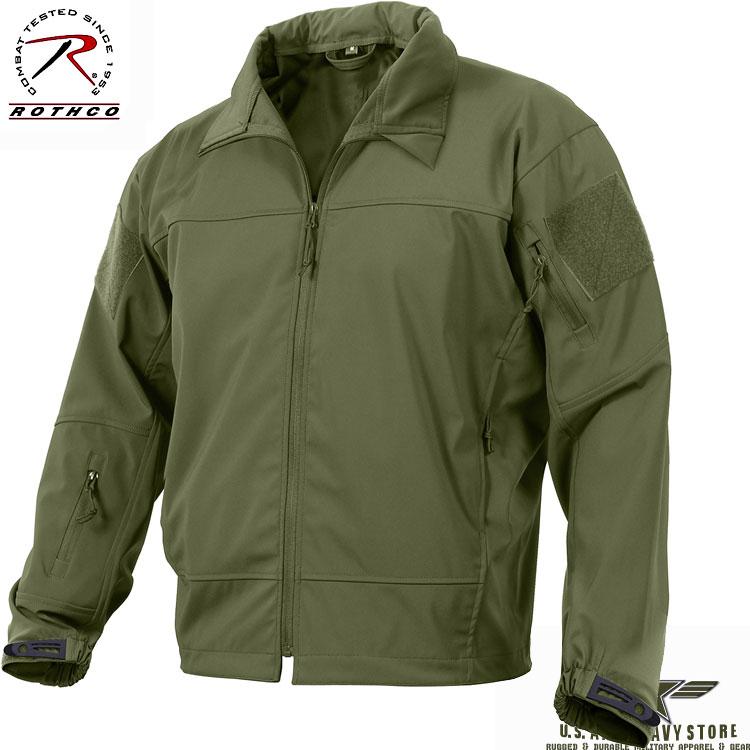 Lightweight Softshell Jacket - OD