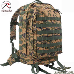 MOLLE II 3-Day Assault Pack Woodland