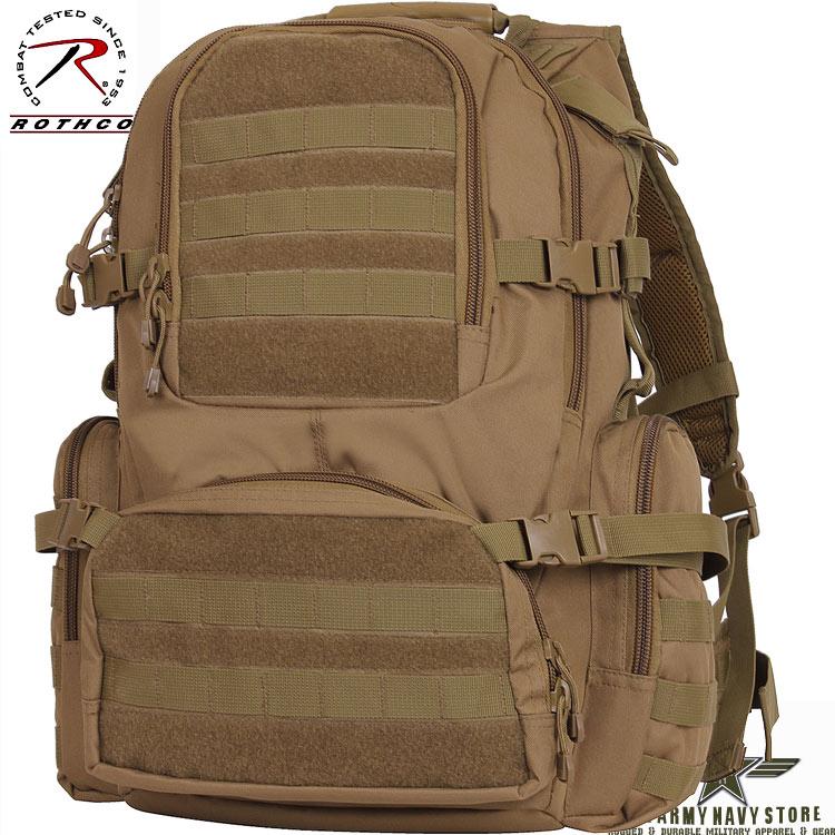 Multi-Chamber MOLLE Assault Pack