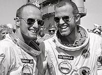 NASA  Astronauts L. Gordon Cooper Jr. and Charles Conrad Jr.