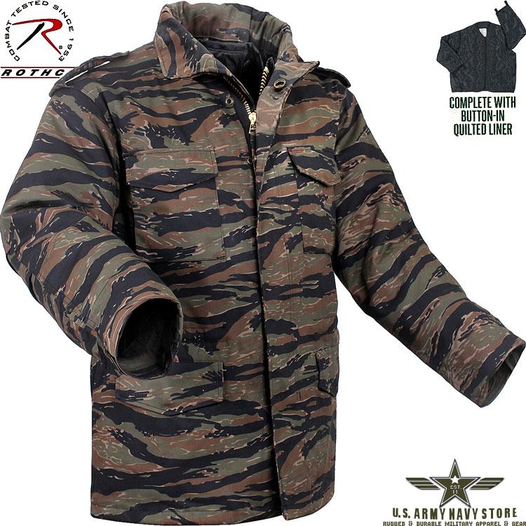 Tiger Stripe Camo M-65 Field Jacket
