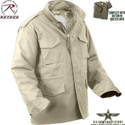 Khaki M-65 Field Jacket