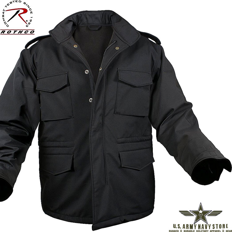 Soft Shell M-65 Jacket - Black