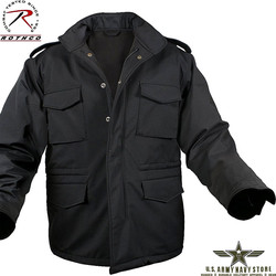 Soft Shell M-65 Jacket - Black