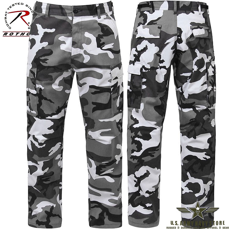 Poly/Cotton Twill BDU Pants City Cam