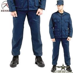 Poly/Cotton Twill BDU Pants - Navy