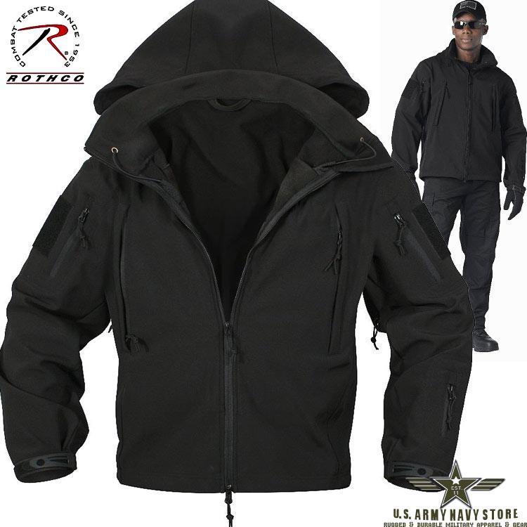Tactical Softshell Jacket - Black