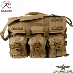 MOLLE Laptop Bag - Coyote Brown