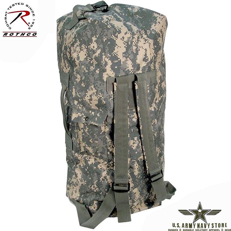 G.I. Type Double Strap Duffle Bag