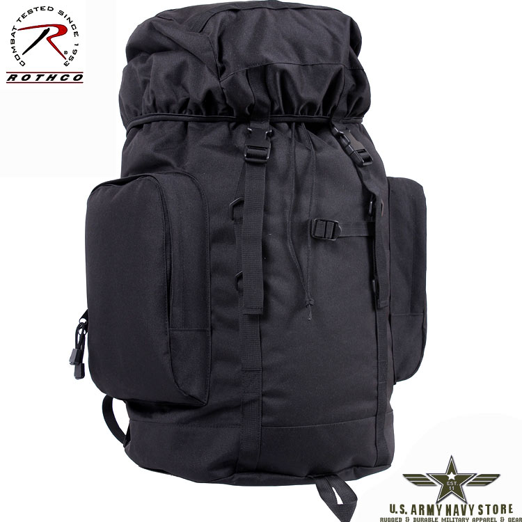 45L Tactical Backpack - Black