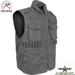 Ranger Vest w/Hood – Olive Drab