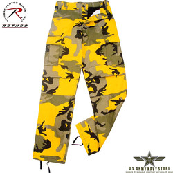 Poly/Cotton Twill BDU Pants - Yellow