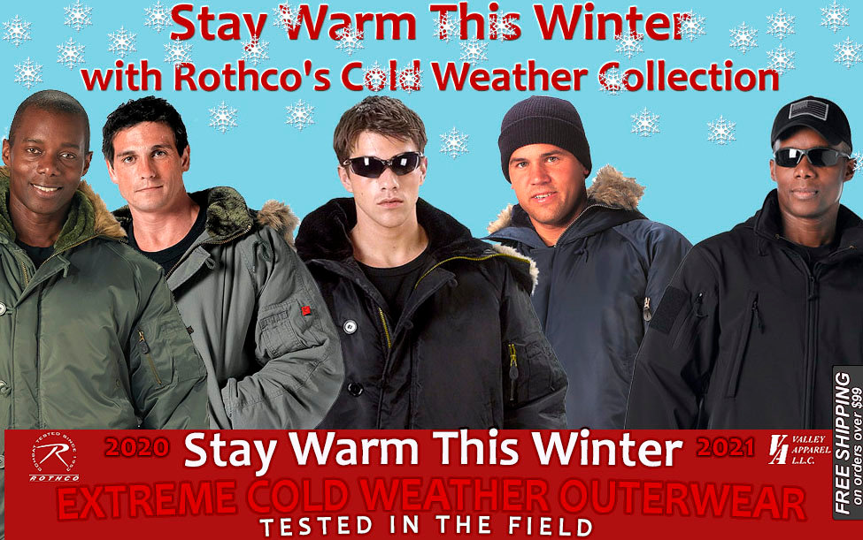 Stay Warm This Winter With Rothco Cold Weather Collection