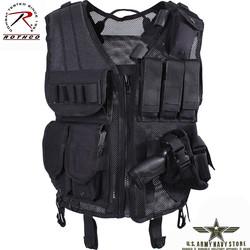 Quick Draw Tactical Vest - Black