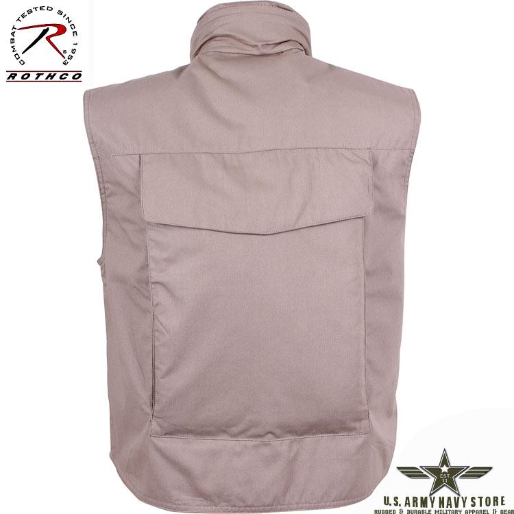 Ranger Vest w/Hood – Khaki