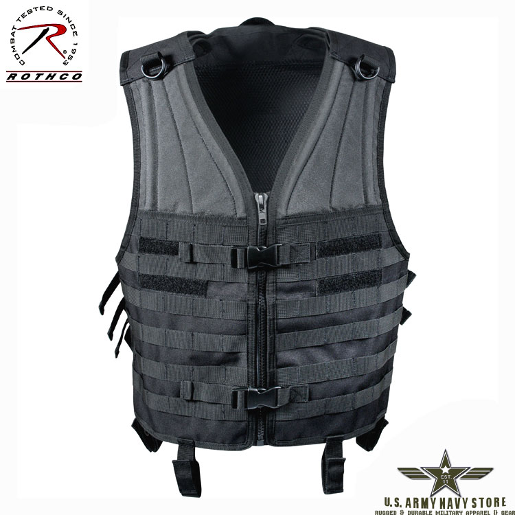 MOLLE Modular Tactical Vest - Black