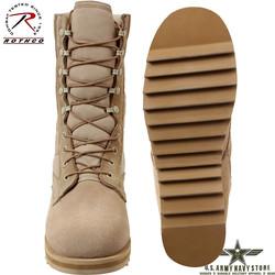 Ripple Sole Jungle Boot - Desert Tan