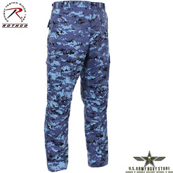 Poly/Cotton Twill BDU Pants Sky Blue
