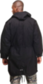 Rothco M-51 Fishtail Parka - Black