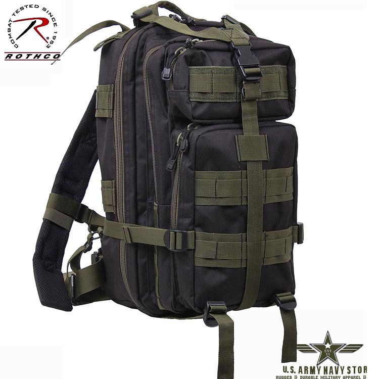 Medium Transport Pack - Black / OD