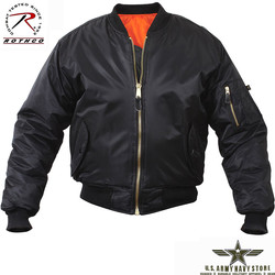MA-1 Flight Jacket - Black