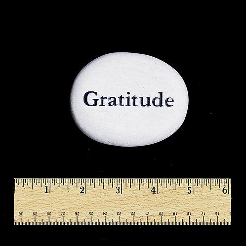 Gratitude Word Stone