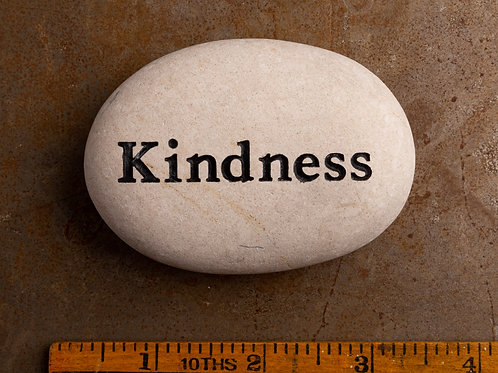 Kindness Word Stone