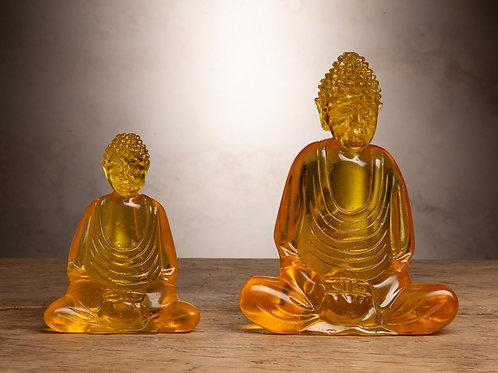 Yellow Resin Buddha