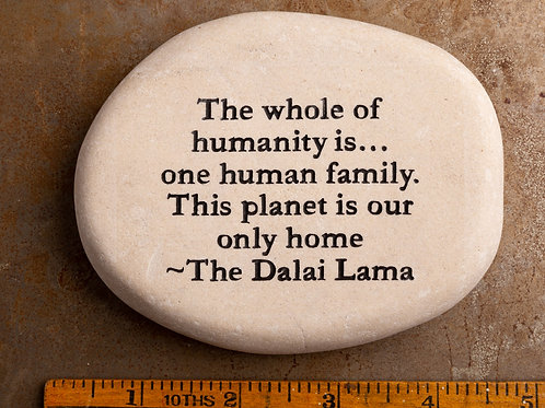 The whole of humanity is...