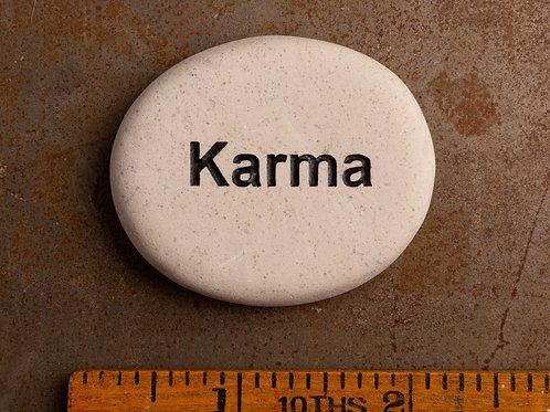 Karma Word Stone